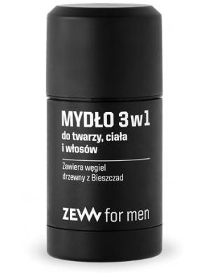 ZEW for men, Mydło dla mężczyzn do twarzy, ciała i włosów 3w1