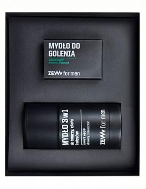 ZEW for men, Zestaw kosmetyków dla mężczyzn - Komplet Golibrody