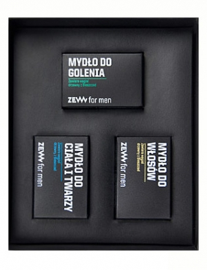 ZEW for men, Zestaw kosmetyków dla mężczyzn - Niezbędnik Golibrody