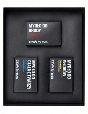 ZEW for men, Zestaw kosmetyków dla mężczyzn - Niezbędnik Brodacza