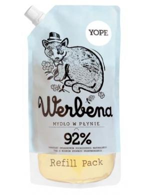 YOPE Nawilżające mydło w płynie Werbena (refill pack) 500ml