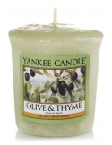 YANKEE CANDLE Świeca zapachowa Olive & Thyme (sampler)