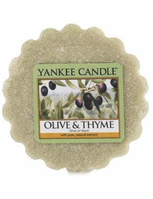 YANKEE CANDLE Wosk zapachowy Olive & Thyme