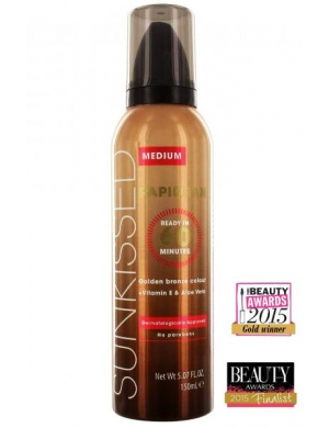 SUNKISSED Samoopalacz w musie Rapid Tan Mousse 60 Minutes