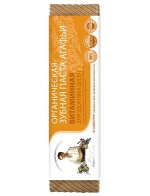 Witaminowa pasta do zębów wzmacniająca dziąsła - Receptury Babuszki Agafii