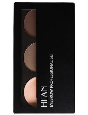 HEAN Zestaw do stylizacji brwi - wosk i cienie Eyebrow Professional Set