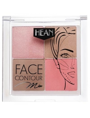 HEAN Paletka do konturowania Face Contour Mix