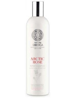 Natura Siberica Blanche, Regenerujący szampon do włosów Arktyczna Róża