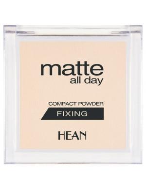 HEAN Transparentny puder matujący do wykończenia makijażu