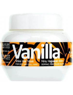 KALLOS Vanilla, Waniliowa maska do włosów matowych 275 ml