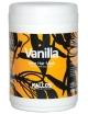 KALLOS Vanilla, Waniliowa maska do włosów matowych i suchych 1000 ml