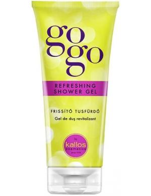KALLOS GOGO Odświeżający żel pod prysznic 200 ml