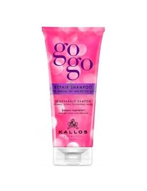 KALLOS GOGO Szampon regenerujący do włosów suchych i łamliwych