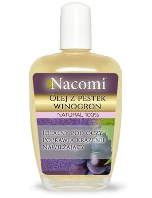 Nacomi Czysty olej z pestek winogron - Nawilżenie & Poprawa kolorytu
