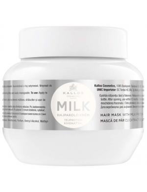 KALLOS KJMN Proteinowa maska do włosów Milk z mlekiem 275ml