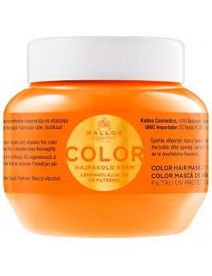 KALLOS KJMN Maska do włosów farbowanych Color 275ml