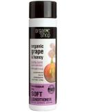 Organic Shop Balsam do włosów cienkich i delikatnych Winogronowy Miód