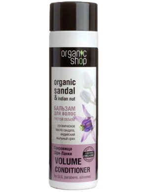 Organic Shop Balsam do włosów dodający objętości Skarb Sri Lanki
