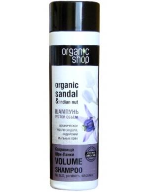 Organic Shop Szampon do włosów dodający objętości Skarb Sri Lanki