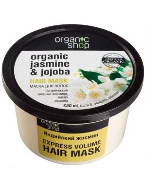 Organic Shop Jaśminowa maska nawilżająca do włosów Jaśmin & Jojoba