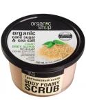 Organic Shop Organiczny intensywny scrub do ciała Cukier Trzcinowy & Morska Sól