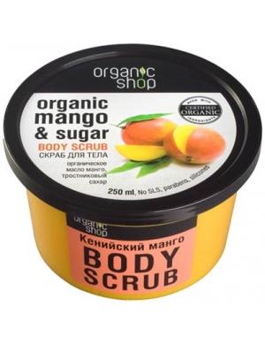 Organic Shop Wygładzający cukrowy scrub do ciała Mango