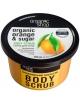 Organic Shop Tonizujący cukrowy peeling do ciała Pomarańcza
