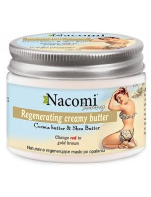 Nacomi Naturalne regeneracyjne masło po opalaniu