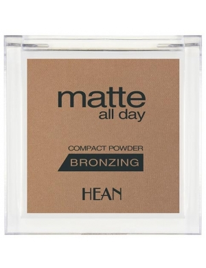 HEAN Matowy bronzer do twarzy Matte All Day - 506 Bahama Sun