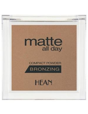 HEAN Matowy bronzer do twarzy Matte All Day - Bahama Sun