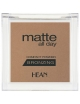 HEAN Matowy bronzer do twarzy Matte All Day - Bahama Sun