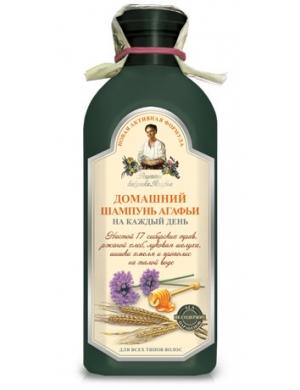 Ziołowy syberyjski szampon domowy do włosów - Receptury Babuszki Agafii