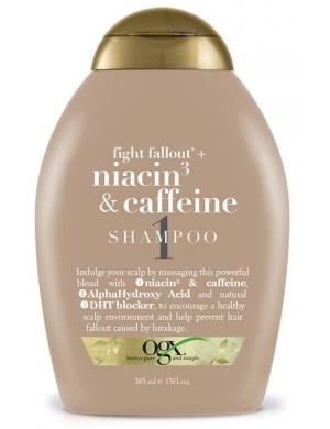 Ogx Szampon do włosów przeciw wypadaniu Niacine & Caffeine