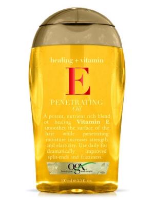 Ogx Wzmacniający olejek do włosów Healing + Vitamin E