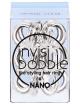 Invisibobble Nano, Gumki do upinania i stylizacji włosów - Crystal Clear