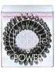 Invisibobble Power, Gumki do upinania i stylizacji włosów - True Black