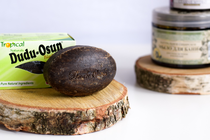 Czarne mydło afrykańskie Osun Dudu