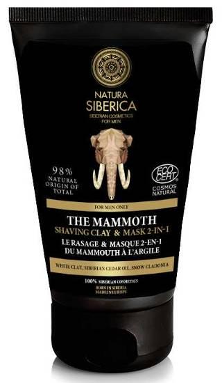 Kosmetyki dla mężczyzn Natura Siberica Men Krem do golenia Mamut 2w1