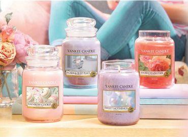 Yankee Candle Woski zapachowe i świece Q1 2018